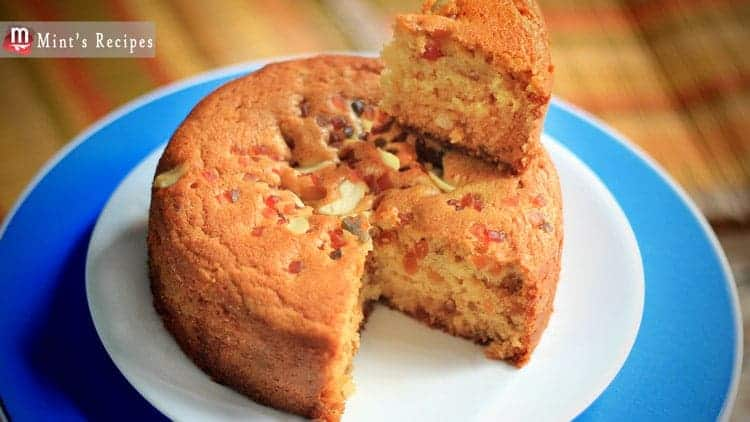 Basic Cake Recipe In Pressure Cooker: Eggless Tutty Fruity Cake Recipe In Pressure Cooker