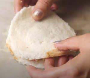 Bread Paneer Paratha