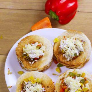 Cheese Veg Disc sandwich