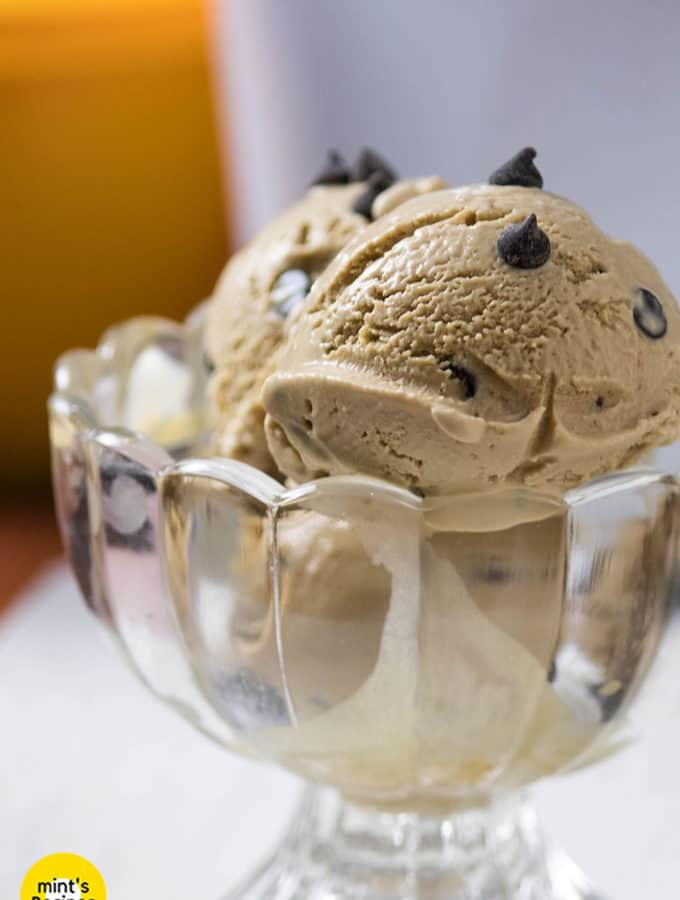 Coffee Chocolate Ice-Cream Recipe At Home