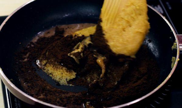 Chocolate Khoya Barfi