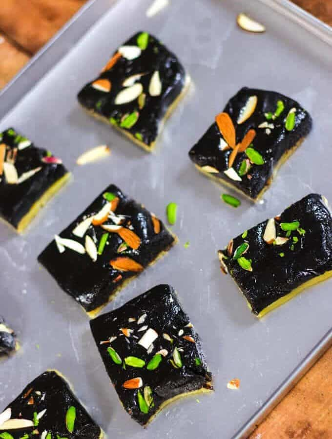 Chocolate Barfi – Indian Sweets And Desserts