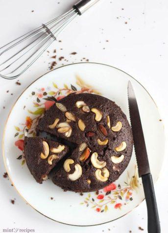Easy Rava Cake Recipe – Eggless Rava Chocolate Cake