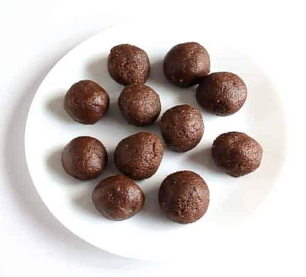 Coconut Chocolate Balls