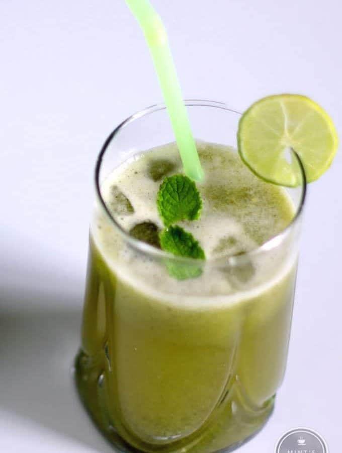 Cucumber Mint Lemonade Recipe – Indian Juice Recipe