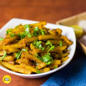French Fries Sabzi