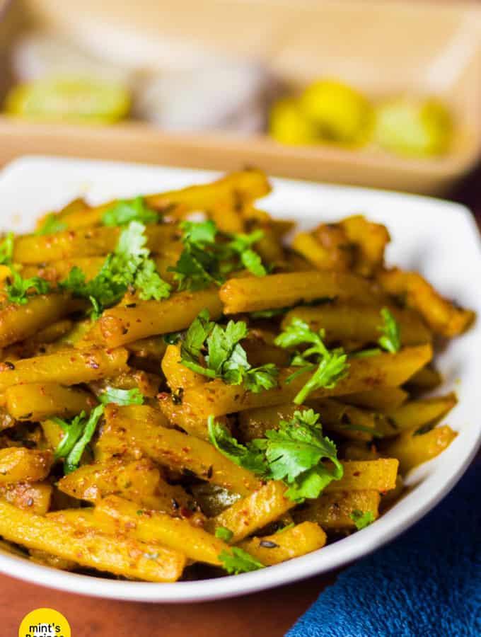 How To Make French Fries Sabzi At Home