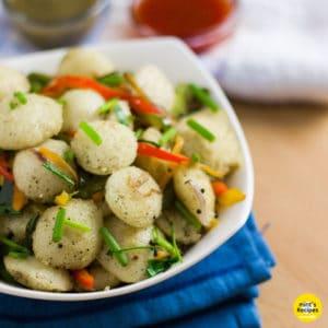 Fried Idli Recipe