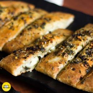 Homemade Cheese Garlic Bread Recipe