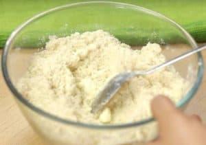 All three powder in bowl.