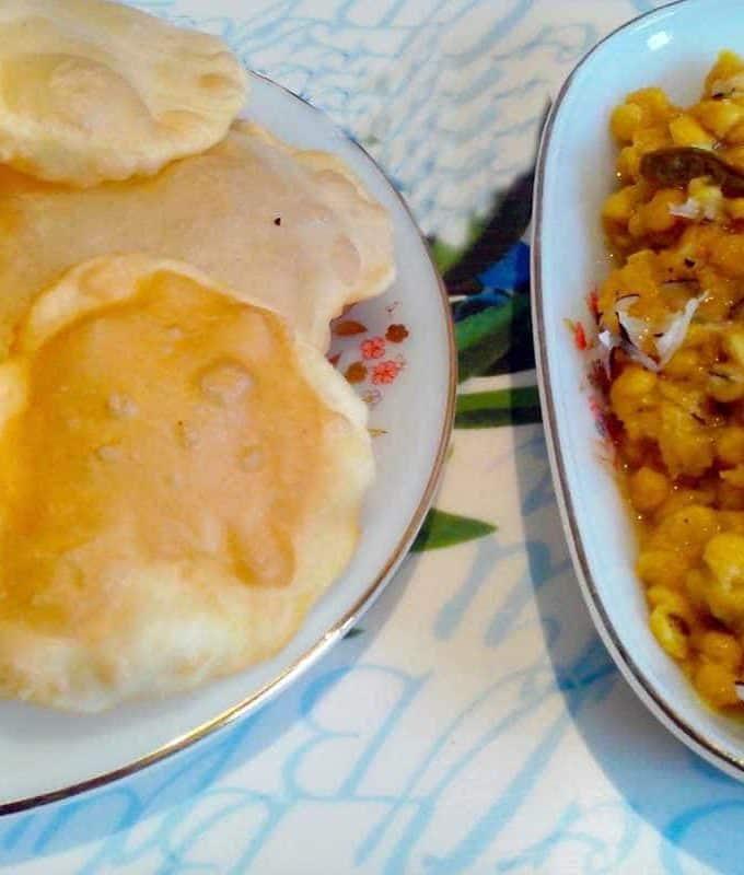 Puri Or Bengali Luchi | Bengali Recipe