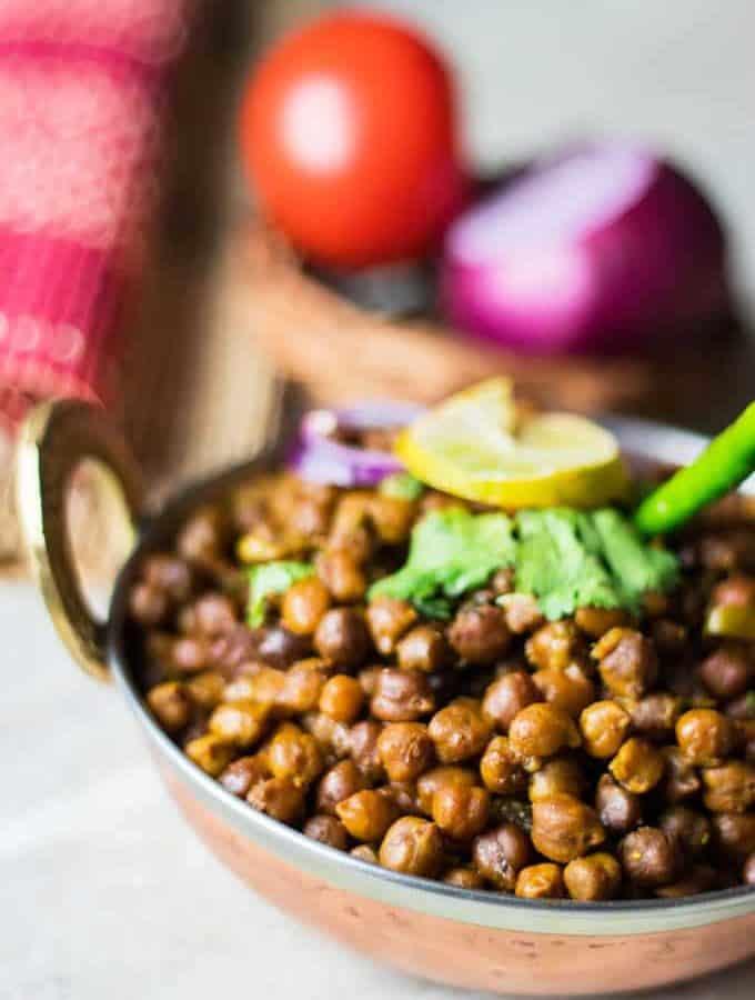 How to make Dry Kala Chana Recipe