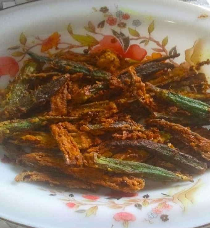 How To Make Kurkuri Bhindi Recipe