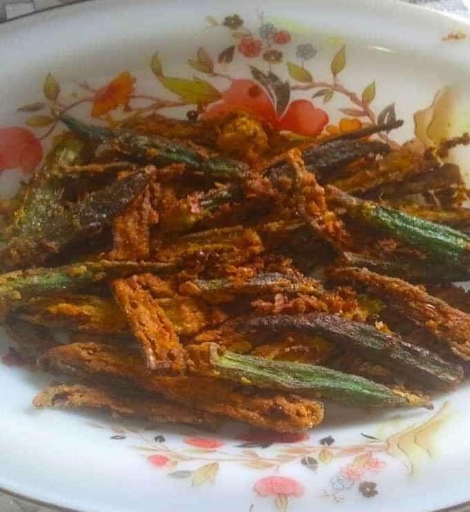 Kurkuri Bhindi Ladies Finger Fry