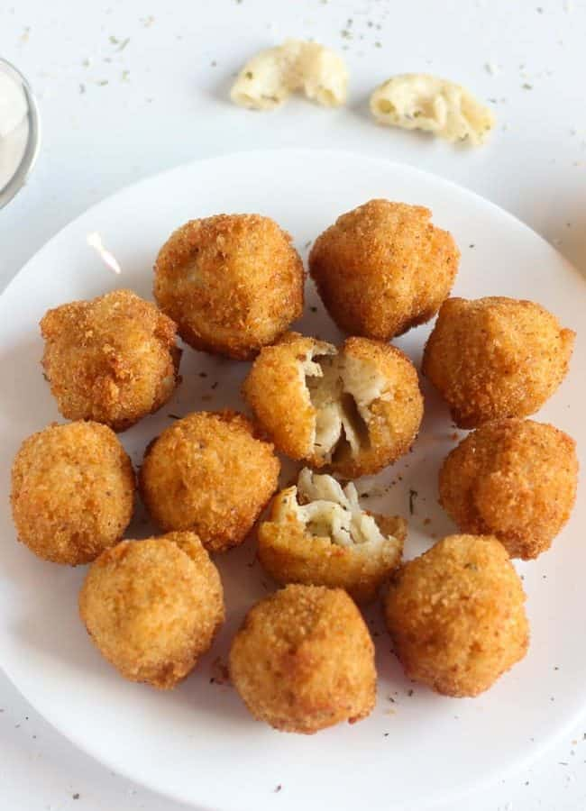 Macaroni Cheese Balls