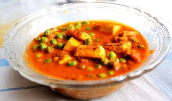 How To Make Matar Paneer Recipe