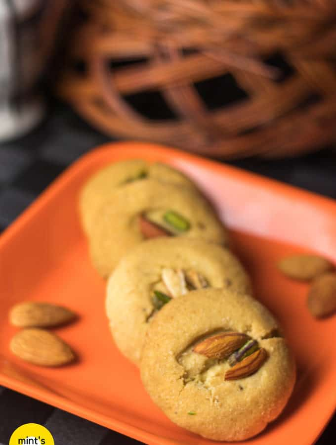 How To Make Nankhatai Recipe | Indian Cookies