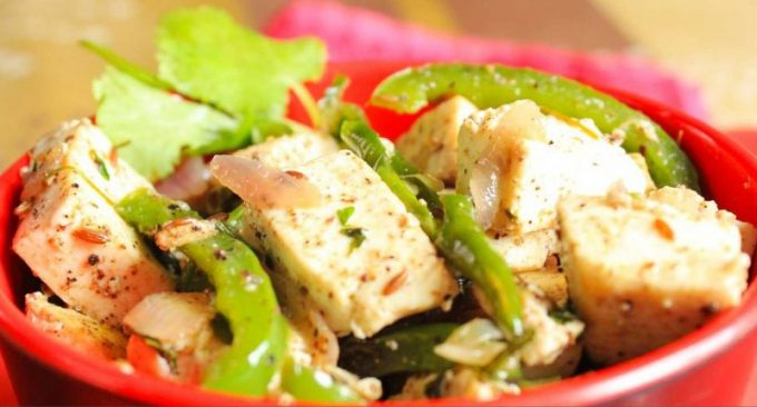 Paneer capsicum Masala Recipe in Hindi