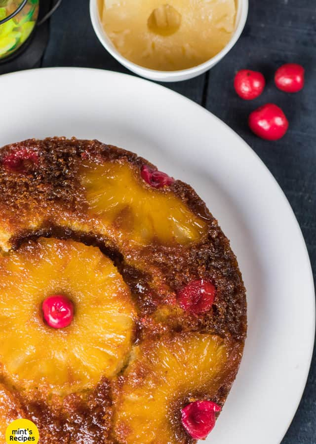 Pineapple Upside Down Cake | Dessert Recipes