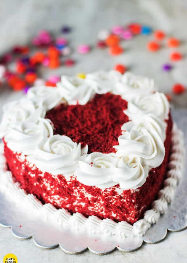 Red Velvet Cake In Pressure Cooker