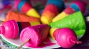 Instant Colourful Kaju katli kulfi
