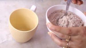 Instant coffee mix