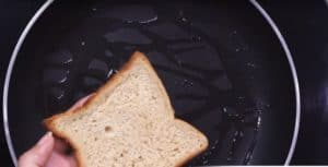 Besan Toast Instructions