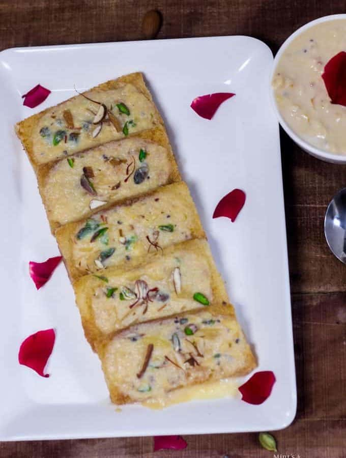 Bread Shahi Tukda Recipe | Indian Dessert Recipe