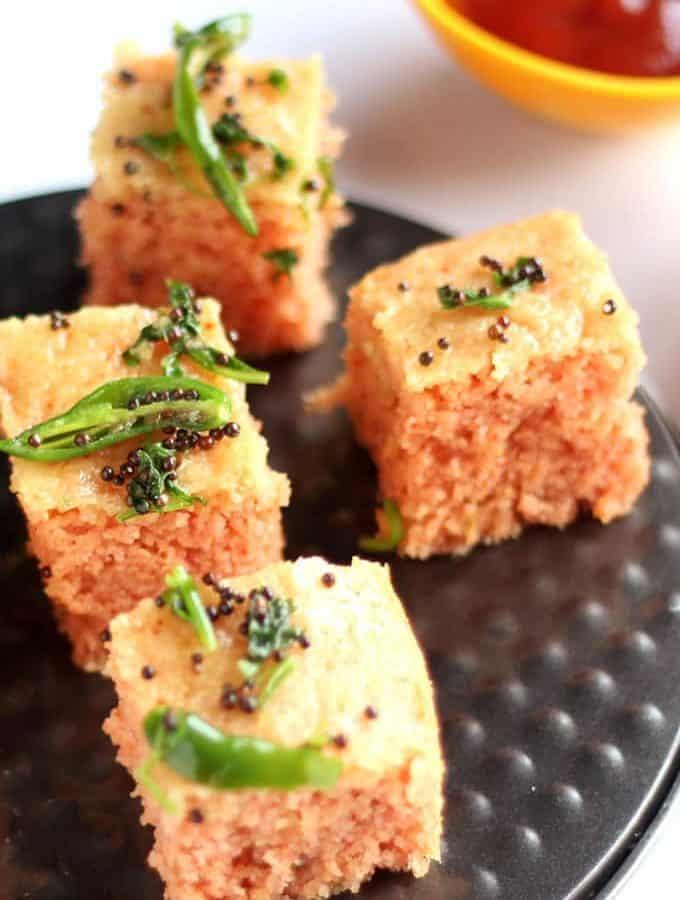 Rava Dhokla Recipe | How To Make Rava Dhokla | Suji Dhokla