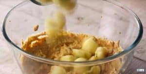 Baby Potatoes in spices bowl