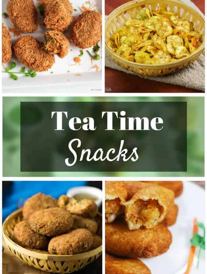 Tea Time Snacks Recipes