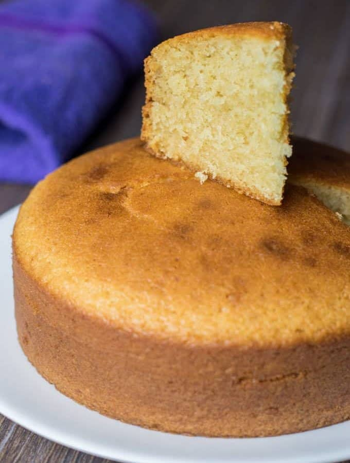 How to make Eggless Cake in Pressure Cooker | Vanilla Cake Recipe