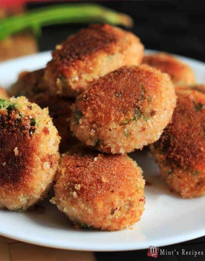 Veg Poha Cutlet Recipe | Light Evening Snacks Recipe for Kids
