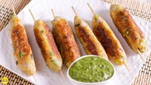 Veg Poha Kebab