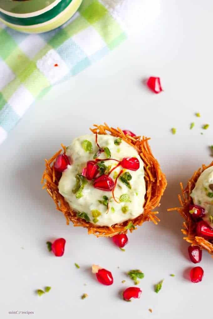 Vermicelli Shrikhand Dessert Recipe