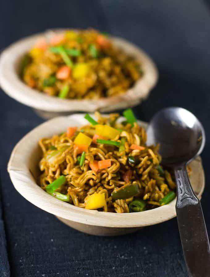 Wai Wai Noodles Recipe For Kids | Wai Wai Noodles Bhel