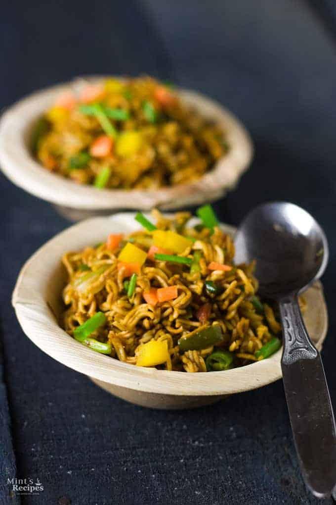 Wai Wai Noodles Recipe with veggies