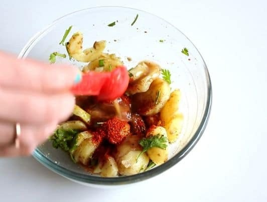 aloo chaat (3)