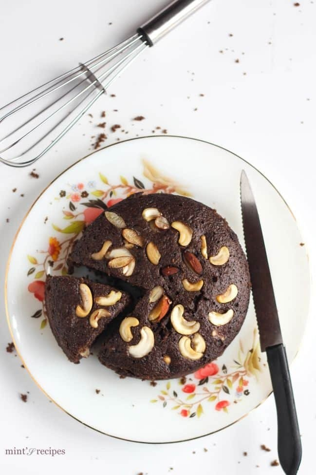 Chocolate Eggless Rava Cake Recipe | A lovely and quick chocolate recipe