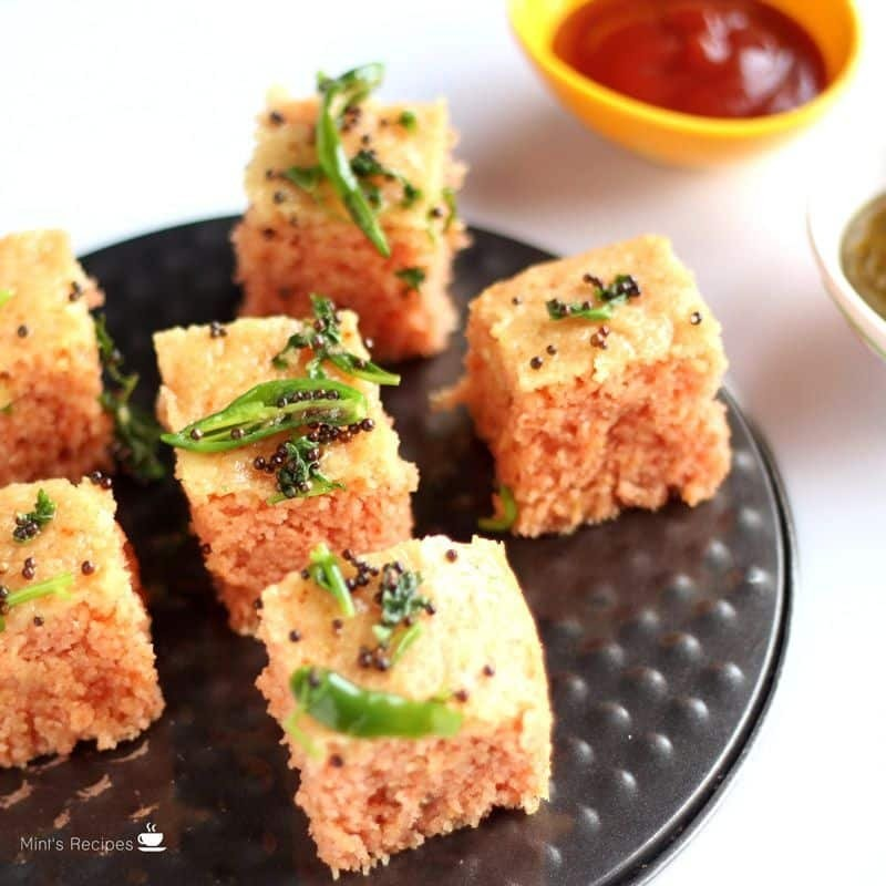 Rava Dhokla Recipe How To Make Rava Dhokla Suji Dhokla
