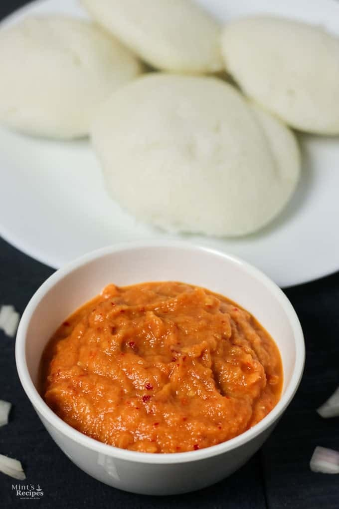 Onion Tomato Chutney Recipe for Side Dish