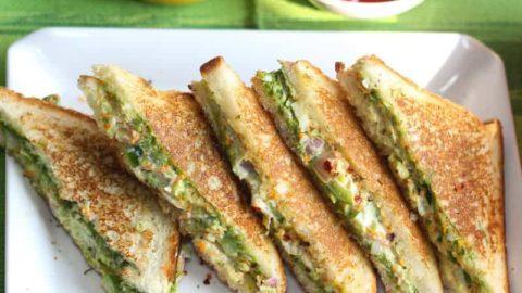 Veg Mayonnaise Sandwich Recipe Breakfast Recipe Mints Recipes